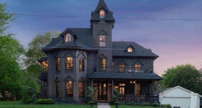 Historic c.1872 Second Empire Victorian Residence in Stillwater, MN for $799K (PHOTOS)