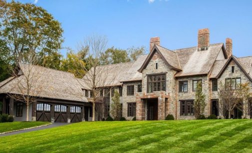 Newly Constructed Greenwich Manor by Granoff Architects Reduced to $12.79M (PHOTOS & FLOOR PLANS)