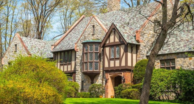 c.1929 Tudor in Greenwich's Exclusive Khakum Wood Association Reduced to $4.65M, Prev. $5.87M (PHOTOS & VIDEO)