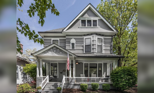 Historic Lockerbie Square Home on Cobblestone Street Reduced to $1.2M (PHOTOS & VIDEO)