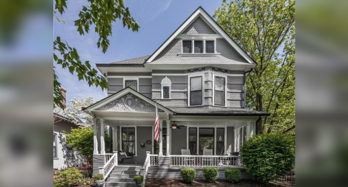 Historic Lockerbie Square Home on Cobblestone Street Lists for $1.25M (PHOTOS & VIDEO)