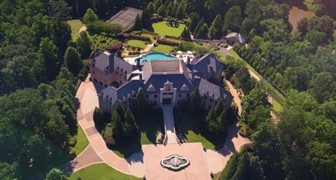 Tyler Perry's Former 17 Acre Atlanta Estate Reduced to $21M (PHOTOS & VIDEO)