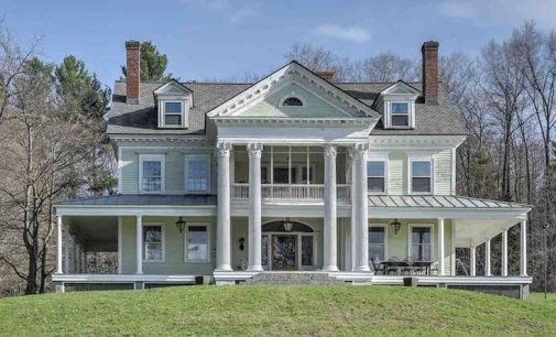 c.1910 Neoclassical Colonial Revival on 12.94 Acres in Walpole, NH for $847K (PHOTOS)