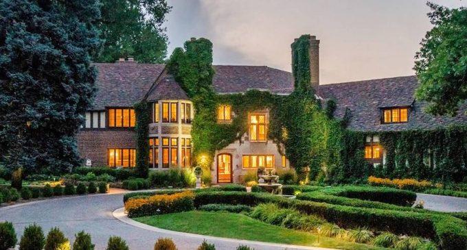 Historic c.1932 Tudor Manor in Denver Reduced to $5.75M, Prev. $7.8M (PHOTOS & VIDEO)