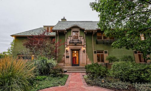 Landmark c.1923 Waring Mansion Bordering Denver Botanic Gardens Reduced to $5.99M (PHOTOS)