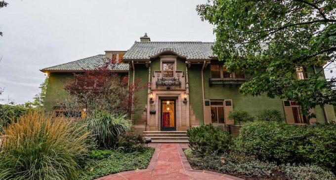 Landmark c.1923 Waring Mansion Bordering Denver Botanic Gardens Reduced to $5.99M (PHOTOS)