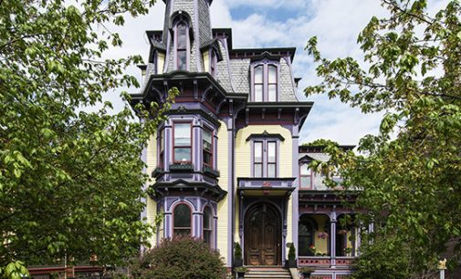 c.1874 Second Empire Manor in Hudson, NY for $1.45M (PHOTOS)