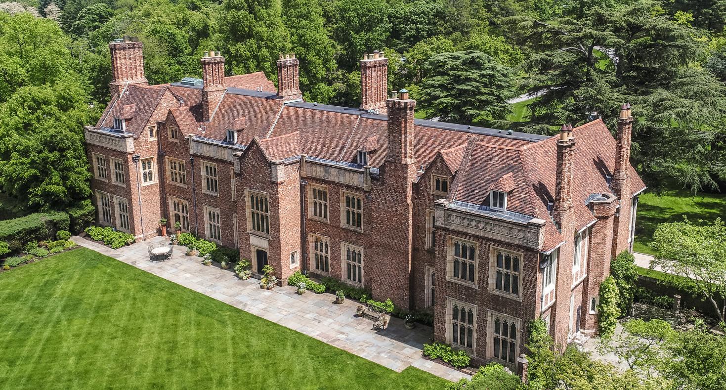Inside a $9.3M Tudor Manor on 18 Acres in Wyndmoor, PA (PHOTOS & VIDEO)