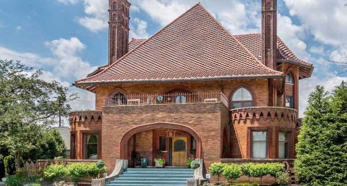 Historic c.1895 Sells Mansion Lists in Columbus, OH Reduced to $1.5M (PHOTOS)