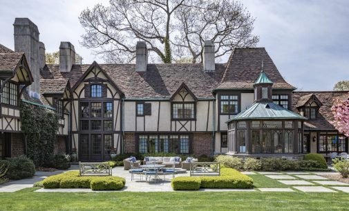 c.1928 French Normandy Manor Lists in Oyster Bay, NY for $21.95M (PHOTOS)
