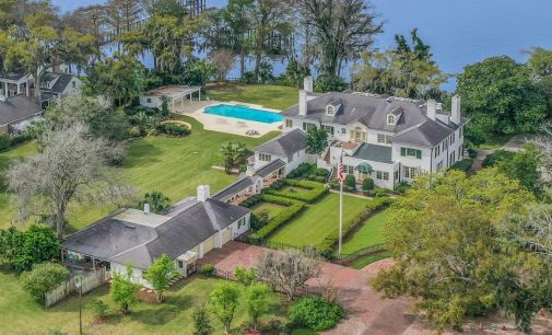 c.1911 Riverfront Florida Manor Drops to $5.9M (PHOTOS & VIDEO)