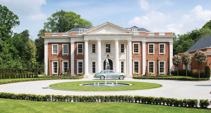 Palladian-Inspired Manor by Consero London in Royal County of Berkshire Asks £22M (PHOTOS)