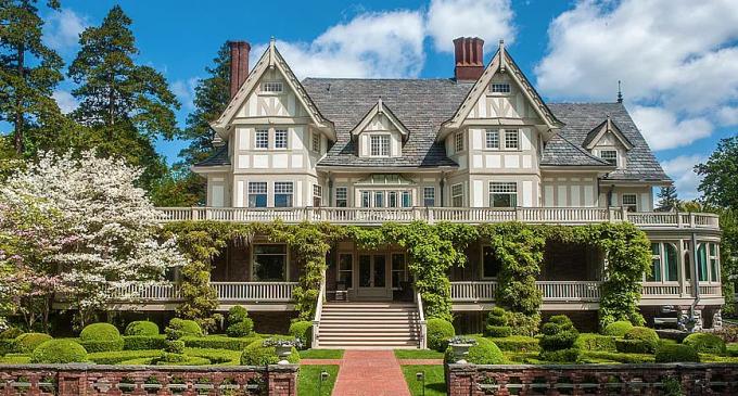 c.1891 Fairholme Manor in Belle Haven, CT Reduced To $14.5M, Prev. $22M (PHOTOS)