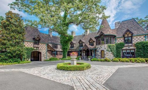 c.1928 French Normandy Manor in Oyster Bay, NY for $21.95M (PHOTOS)