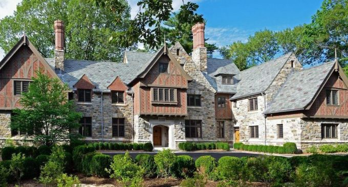 Inside A Mid Country English Tudor Revival Manor Designed By