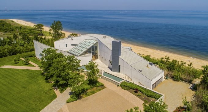 Modern Dream Home on 3 Acres with 300′ of Sandy Beachfront Reduced to $9.5M, Prev. $20M (PHOTOS & VIDEO)
