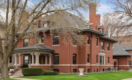 Saint Paul, MN's c.1901 Clarence Johnston Mansion for $2.1M (PHOTOS)