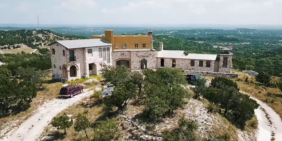 YouTuber OffTheRanch Buys Abandoned $850K Texas Castle