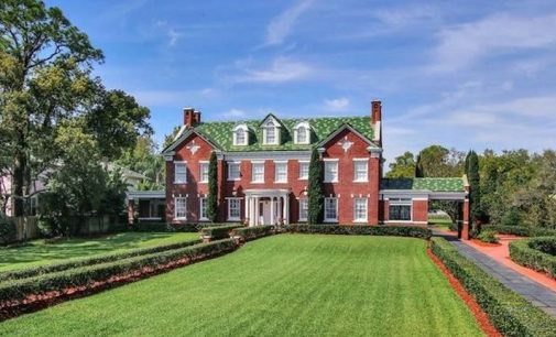 c.1905 Brick Georgian On 2 Acres with Dock in Tampa, FL Reduced to $6.3M (PHOTOS & VIDEO)