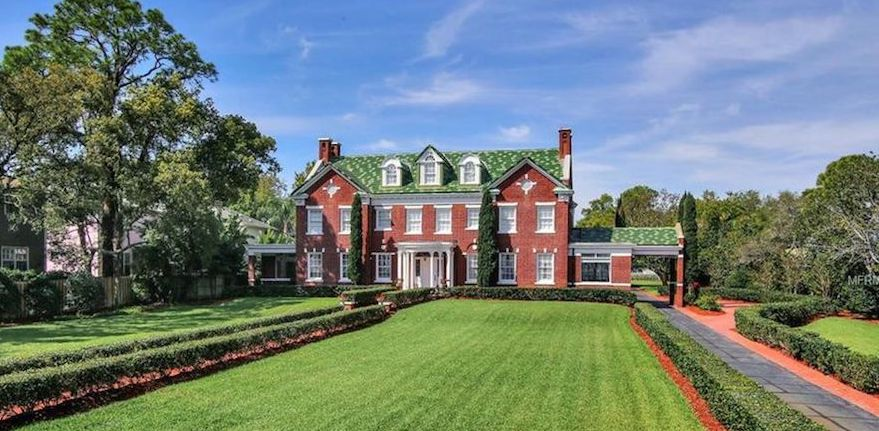c.1905 Brick Georgian on 2 Acres with Dock in Tampa, FL Reduced to $5.9M (PHOTOS & VIDEO)