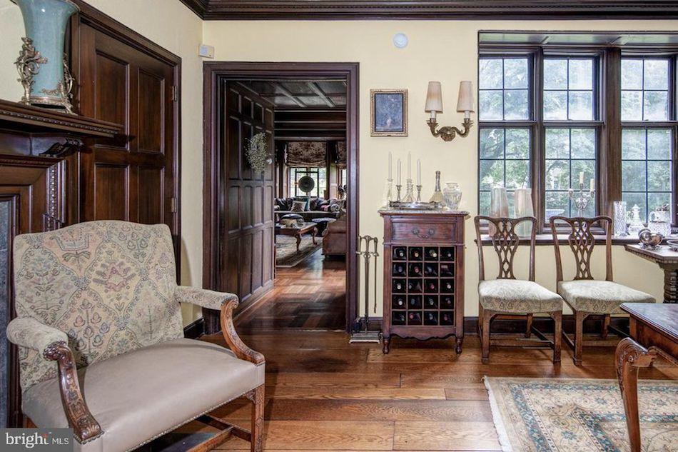 C 1917 Walter H Thomas Stone Mansion In Philadelphia Pa