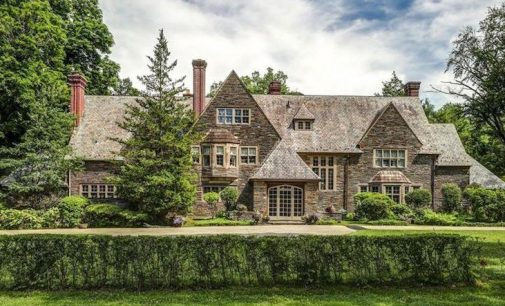 c.1917 Walter H. Thomas Stone Mansion in Philadelphia, PA for $2.3M (PHOTOS)