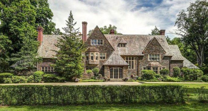 c.1917 Walter H. Thomas Stone Mansion in Philadelphia, PA for $2.3M (PHOTOS)