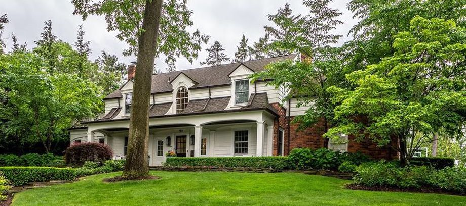 c.1939 Bloomfield Village Colonial Bungalow Reduced to $1.85M (PHOTOS & VIDEO)