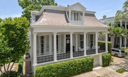 c.1869 Second Empire Home in New Orleans' Garden District for $1.1M (PHOTOS)