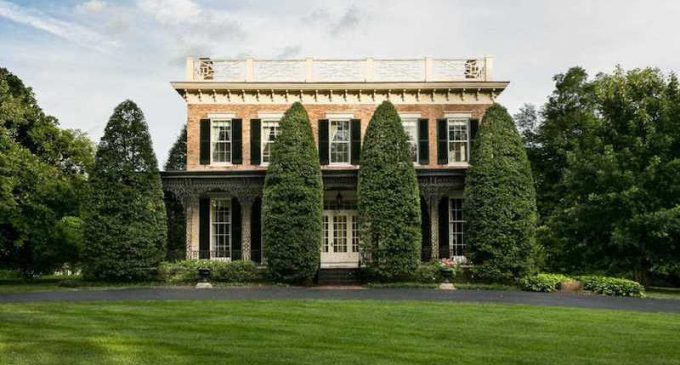 Louisville, KY's Historic c.1854 Sunnyside Home Reduced to $1.59M, Prev. $2.65M (PHOTOS & VIDEO)