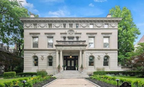 c.1895 Beaux-Arts William D. Orthwein Mansion in Saint Louis for $2.25M (PHOTOS)