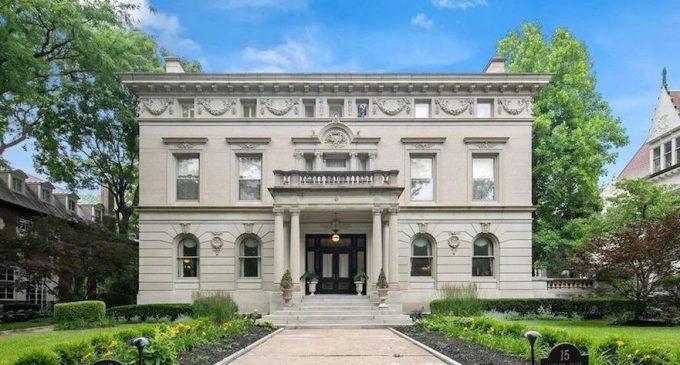 c.1895 Beaux-Arts William D. Orthwein Mansion in Saint Louis for $2.25M (PHOTOS)