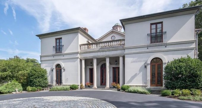 Palladian Mansion on 7.5 Acres in Manchester, MA Reduced to $2.75M (PHOTOS & VIDEO)
