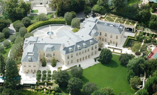 Holmby Hills Landmark 56,000 Sq. Ft. Spelling Manor Sells for Record $120M (PHOTOS)