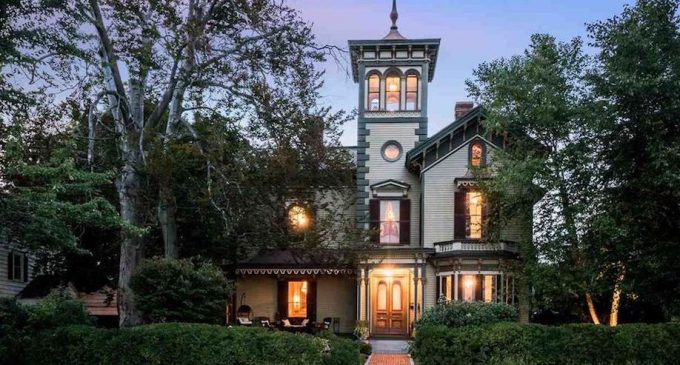c.1867 Hubbard-Varney Mansion in Manchester, NH's Museum District Reduced to $839K (PHOTOS & VIDEO)
