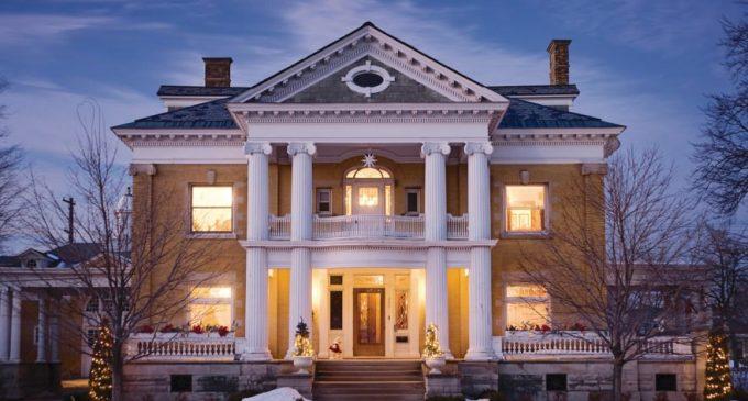 Historic c.1905 Cartier Mansion for $799K in Ludington, MI (PHOTOS)