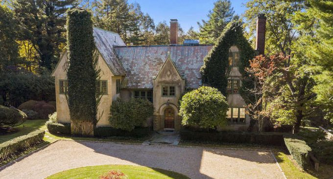 c.1912 Ivy Covered Manor with Outdoor Skating Rink for $3.1M (PHOTOS)