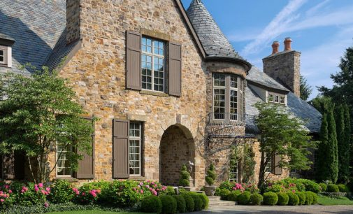 Rustic 14,000 Sq. Ft. Stone Manor by Paskevich & Associates on Lake Erie Lists for $6.4M (PHOTO)