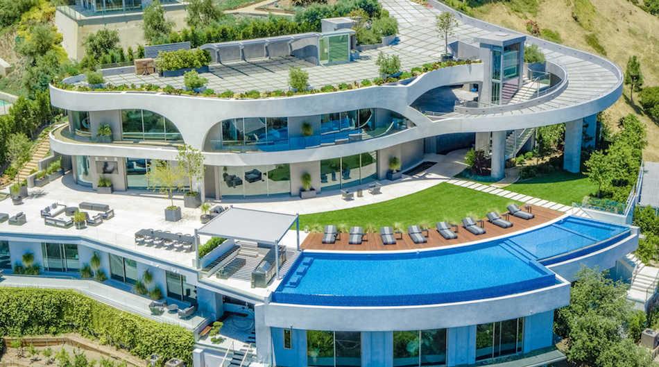 Contemporary Cliffside Spec Mansion by de Loren & Associates in Los Angeles Lists for $42M (PHOTOS & VIDEO)
