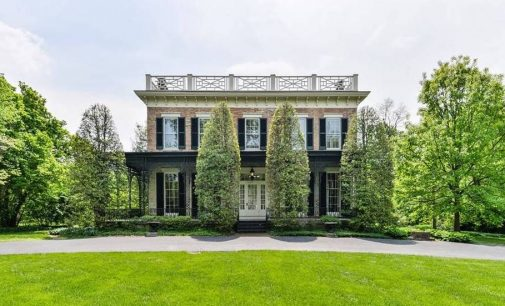Louisville, KY's Historic c.1854 Sunnyside Home Reduced to $1.79M, Prev. $2.65M (PHOTOS & VIDEO)