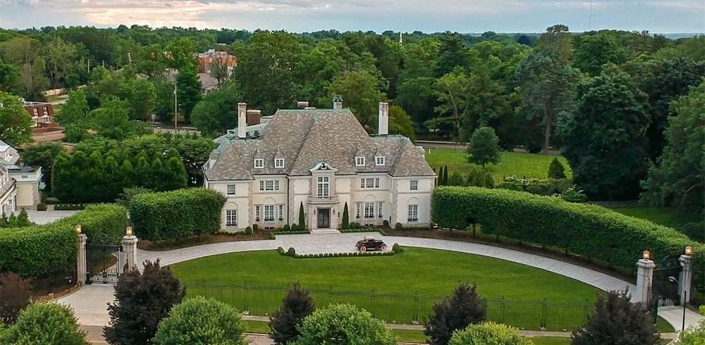 c.1927 Harvey S. Firestone Jr. Mansion in Akron, OH Drops to $5M (PHOTOS)