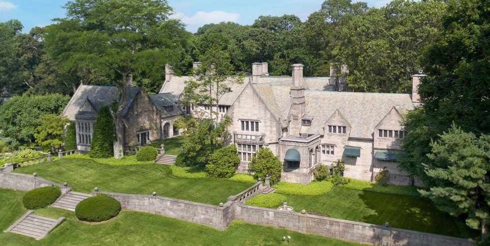 Historic c.1927 Rynwood Estate on 51 Acres in Old Brookville, NY for $23M (PHOTOS)