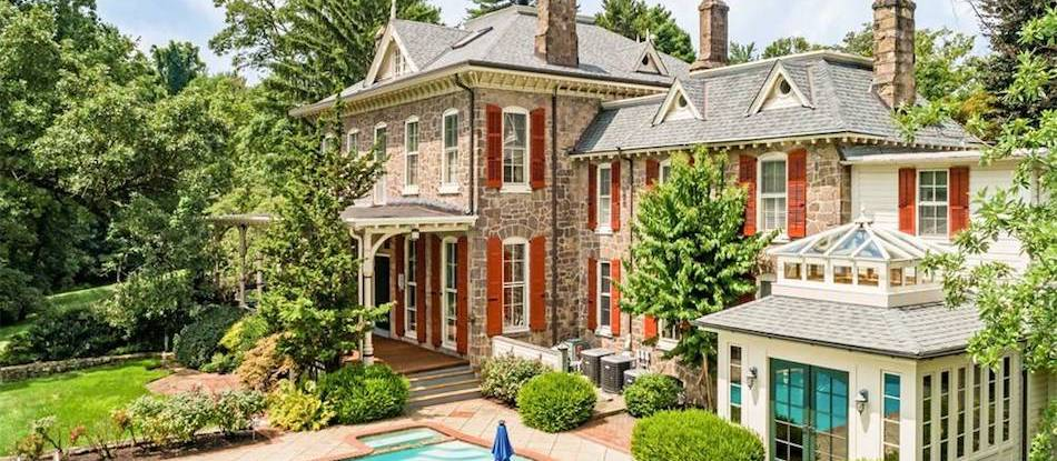 c.1900 Italianate Home on 6.1 Acres in Ambler, PA Sells for $1.7M (PHOTOS)