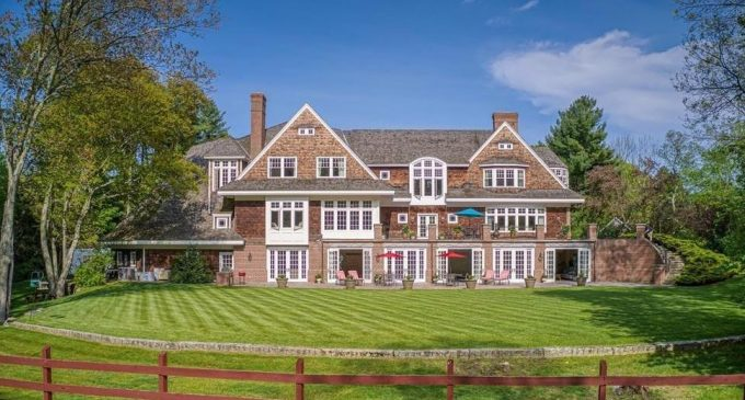 Shingle-Style Residence on 4.3 Acres with Pastures & Barn Reduced to $3.8M (PHOTOS & VIDEO)