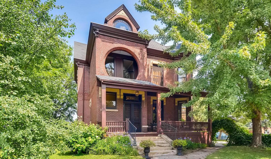 Restored c.1885 Samuel Dearing House in Saint Paul, MN Sells for $775K  (PHOTOS)
