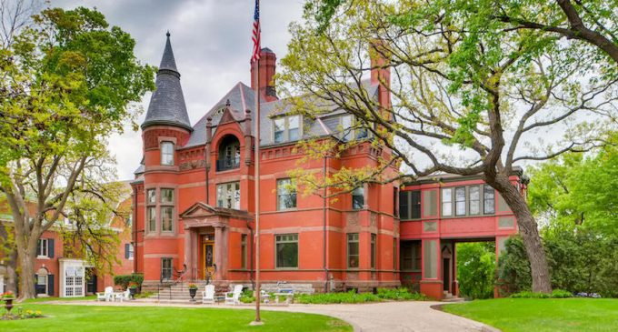 c.1884 Driscoll-Weyerhaeuser Richardsonian Romanesque House in Saint Paul, MN for $1.7M (PHOTOS)