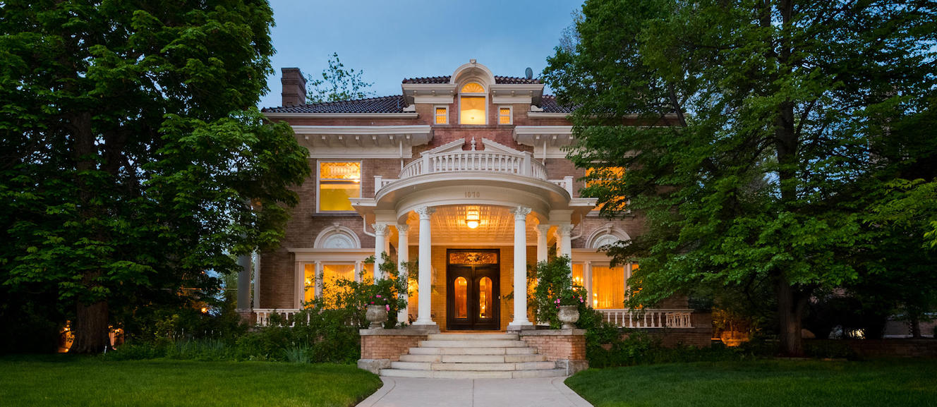 c.1905 Thompson-Henry Mansion Overlooking Cheesman Park for $4.5M (PHOTOS)