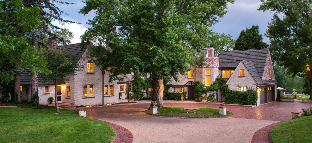 c.1923 William R. Owen Estate in Cherry Hills Village, CO Lists for $10.5M (PHOTOS)