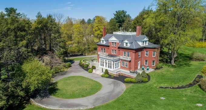 c.1889 Hughes House by Architect William Ralph Emerson Reduced to $2.65M in Milton, MA (PHOTOS & VIDEO)