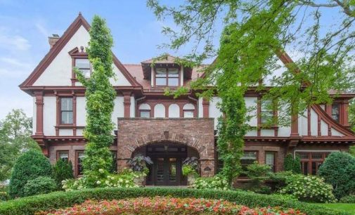 c.1902 Ernest Mayo Tudor Revival Steps From Lake Michigan Lists for $2.85M (PHOTOS & VIDEO)